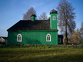 Mosque in Kruszyniany village. Poland<br />  Kruszyniany village in East Poland where Muslims, Catholics and Orthodox live together. <br /> <br /> Photo: Adam Lach, n-ost,  Napo Images