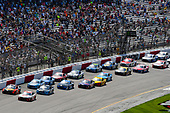 Monster Energy NASCAR Cup Series<br /> Toyota Owners 400<br /> Richmond International Raceway, Richmond, VA USA<br /> Sunday 30 April 2017<br /> Matt Kenseth, Joe Gibbs Racing, Circle K Toyota Camry and Martin Truex Jr, Furniture Row Racing, Bass Pro Shops/TRACKER BOATS Toyota Camry<br /> World Copyright: Nigel Kinrade<br /> LAT Images<br /> ref: Digital Image 17RIC1nk11449