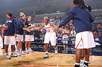 Virginia women's basketball player Monica Wright