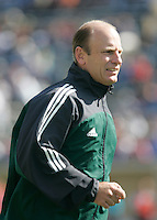 Fourth official Brian Hall during warmups. The USA defeated China, 4-1, in an international friendly at Spartan Stadium, San Jose, CA on June 2, 2007.
