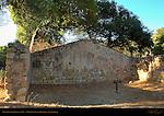 Pottery Shed ruins 1808, Mission Santa Barbara, California