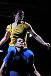 LES MODULABLES..Erasure duet....Choregraphie : LEIGHTON Joanne..Costumes :..Lumières : ANNEBI Farid..Compagnie : CCN de Franche Comté à Belfort..Avec :  BAJOLET Matthieu, CARRIAU Marion, FUSCO Massimo, ISELI Alexandre, PELLERAY Edouart, SIMON Pauline..Lieu : Centre National de la danse..Ville : PANTIN..Le : 06/03/2012..© Laurent PAILLIER / photosdedanse.com..All Rights reserved