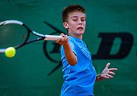 Hilversum, Netherlands, Juli 29, 2019, Tulip Tennis center, National Junior Tennis Championships 12 and 14 years, NJK, Manvydas Balclunas (NED)<br /> Photo: Tennisimages/Henk Koster