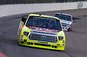 NASCAR Camping World Truck Series<br /> M&M's 200 presented by Casey's General Store<br /> Iowa Speedway, Newton, IA USA<br /> Friday 23 June 2017<br /> Matt Crafton, Fisher Nuts/Menards Toyota Tundra<br /> World Copyright: Russell LaBounty<br /> LAT Images