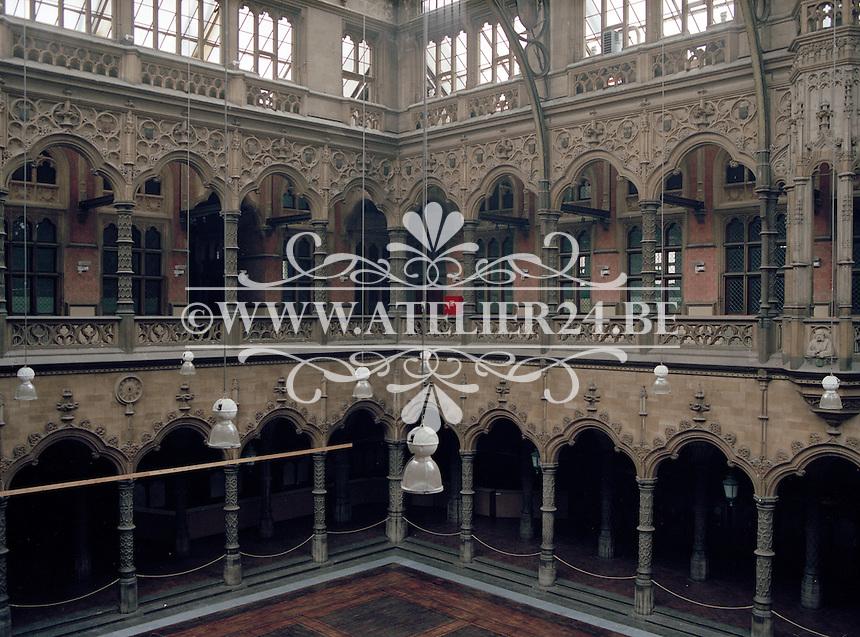Juni 1994. Handelsbeurs in Antwerpen.