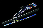 Gianina Ernst of Germany compete during the Ski Jumping Ladies' Normal Hill Individual as part of the 2014 Sochi Olympic Winter Games at RusSki Gorki Jumping Center on February 11, 2014 in Sochi, Russia. Photo by Victor Fraile / Power Sport Images