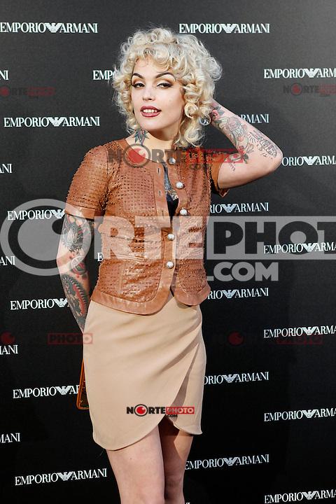 Vinila von Bismark attends the Emporio Armani Boutique opening at Serrano street in Madrid, Spain. April 08, 2013. (ALTERPHOTOS/Caro Marin) /NortePhoto
