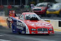 May 6, 2012; Commerce, GA, USA: NHRA funny car driver Johnny Gray during the Southern Nationals at Atlanta Dragway. Mandatory Credit: Mark J. Rebilas-