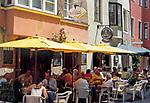 Kroatien, Istrien, Porec: Cafes und Restaurants   Croatia, Istria, Porec: cafes and restaurants