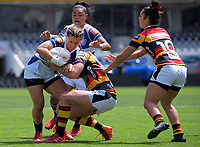 Theresa Fitzpatrick in action during the Farah Palmer Cup women's rugby union match between Auckland Storm and Waikato at Eden Park in Auckland, New Zealand on Sunday, 18 October 2020. Photo: Dave Lintott / lintottphoto.co.nz