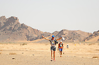 5th October 2021; Kourci Dial Zaid to Jebel El Mraier ; Laurent GUICHARD (fra) Marathon des Sables, stage 3 of  a six-day, 251 km ultramarathon, which is approximately the distance of six regular marathons. The longest single stage is 91 km long. This multiday race is held every year in southern Morocco, in the Sahara Desert.