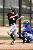 Brent Morel -  Chicago White Sox - 2009 spring training.Photo by:  Bill Mitchell/Four Seam Images