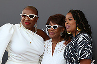 LOS ANGELES - AUG 8:  Aisha Hinds, Congresswoman Maxine Waters, Malinda Williams at the Heirs Of Afrika 4th Annual International Women of Power Awards at the Marriott Marina Del Rey on August 8, 2021 in Marina Del Rey, CA