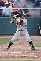 August 4, 2009: Boise Hawks' Greg Rohan at-bat during a Northwest League game against the Everett AquaSox at Everett Memorial Stadium in Everett, Washington.