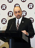 Marcel Desjardins GM Ottawa RedBlacks 2013. Photo Scott Grant