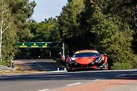 #71 Inception Racing Ferrari 488 GTE EVO LMGTE Am, Brendan Iribe, Ollie Millroy, Ben Barnicoat, 24 Hours of Le Mans , Test Day, Circuit des 24 Heures, Le Mans, Pays da Loire, France