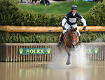 William Fox-Pitt(GBR), competing on NEUF DES COEURS, during the Cross Country Test at the Rolex 3-Day 4-Star Event at the Kentucky Horse Park in Lexington, Kentucky on April 30, 2011.