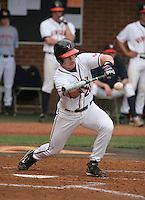 Brandon Guyer of the Virginia Cavaliers vs. the Miami Hurricanes:  March 24th, 2007 at Davenport Field in Charlottesville, VA.  Photo By Mike Janes/Four Seam Images