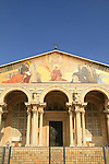The Basilica of the Agony-Church of all Nations at Gethsemane