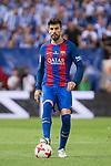FC Barcelona's defender Gerard Pique during Copa del Rey (King's Cup) Final between Deportivo Alaves and FC Barcelona at Vicente Calderon Stadium in Madrid, May 27, 2017. Spain.<br /> (ALTERPHOTOS/BorjaB.Hojas)