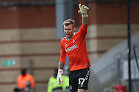 Laurie Walker of Oldham Athletic during Leyton Orient vs Oldham Athletic, Sky Bet EFL League 2 Football at The Breyer Group Stadium on 27th March 2021