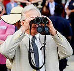 July 31, 2021: Cross Border #2, ridden by jockey Luis Saez win the Grade 2 Bowling Green Stakes on the turf at Saratoga Race Course in Saratoga Springs, N.Y. on July 31, 2021. Dan Heary/Eclipse Sportswire/CSM