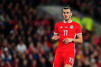 Gareth Bale of Wales  during the UEFA Nations League B match between Wales and Ireland at Cardiff City Stadium in Cardiff, Wales, UK.September 6, 2018