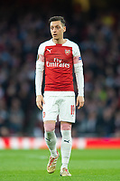 Arsenal's Mesut Ozil during the UEFA Europa League Semi-Final 1st leg match between Arsenal and Valencia at the Emirates Stadium, London, England on 2 May 2019. Photo by Andrew Aleksiejczuk / PRiME Media Images.