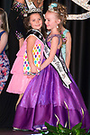 March 25, 2017- Tuscola, IL- Newly crowned 2017 Little Miss Julianne Steffens hugs 2016 Little Miss Ava Brown during the Miss Tuscola pageant. [Photo: Douglas Cottle]