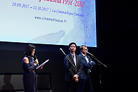 Sam HUI - Presentation en Avant-Premiere du film OUR TIME WILL COME de Ann Hui - Retrospective Hong Kong 20 ans de cinema - La Cinematheque francaise - 20 septembre 2017 - Paris - France