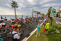 29th August 2020, Nice, France;  Illustration picture during stage 1 of the 107th edition of the 2020 Tour de France cycling race, a stage of 156 kms with start in Nice Moyen Pays and finish in Nice