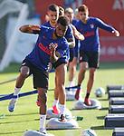 Atletico de Madrid's Thomas Lemar during training session. May 25,2020.(ALTERPHOTOS/Atletico de Madrid/Pool)
