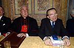 CARDINALE FIORENZO ANGELINI CON GIULIO ANDREOTTI         ARCHIVIO 2006