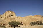 Zohar Fortress in the Judean Desert