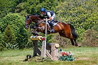 AUS-Christopher Burton rides Leopard's Action during the Cross Country for the CCI-L 4*. 2021 GBR-Bicton International Horse Trials. Devon. Great Britain. Saturday 12 June. Copyright Photo: Libby Law Photography