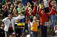 TUNJA -COLOMBIA, 06-09-2014. Patriotas FC VS Uniautonoma durante partido válido por la fecha 8 de la Liga Postobón II 2014 realizado en el estadio La Independencia en Tunja./  Patriotas FC VS Uniautonoma during match valid for the 4th date of Postobon  League 2014-11 at La Independencia stadium in Tunja. Photo: VizzorImage/ Cesar Luis Melgarejo /STR
