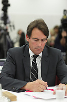September 11, 2012 - Montreal (Quebec) CANADA - CRTC hearing on Astral acquisition by Bell Canada - <br /> Pierre-Karl Peladeau, President and CEO, Quebecor Media Inc.