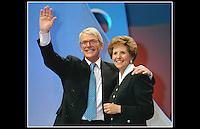 John & Norma Major - Docklands Arena - Election 1997