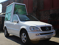 BNPS.co.uk (01202 558833)<br /> AdamPartridge/BNPS<br /> <br /> A 'Popemobile' advertising vehicle converted by PaddyPower from a Mercedes ML 320.<br /> <br /> A vast collection of 'weird and wonderful' memorabilia from a music venue that hosted early Beatles gigs has emerged for sale for close to £50,000.<br /> <br /> Lathom Hall in Liverpool was one of the best known clubs on the Merseybeat music scene in the late 1950s and early 1960s.<br /> <br /> Among their regular bands were the Beatles, although at that time they were known as the Silver Beets.<br /> <br /> Since those days the hall has adapted and is now an entertainment venue crammed full of pop culture memorabilia.