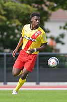 Christopher Wooh (5) of Rc Lens pictured during a friendly soccer game between Racing Club De Lens and Standard de Liege  during the preparations for the 2021-2022 season , on wednesday 7 of July 2021 in Billy Montigny , France . PHOTO DIRK VUYLSTEKE   SPORTPIX