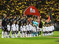 Einlauf der Mannschaften - 19.11.2019: Deutschland vs. Nordirland, Commerzbank Arena Frankfurt, EM-Qualifikation DISCLAIMER: DFB regulations prohibit any use of photographs as image sequences and/or quasi-video.