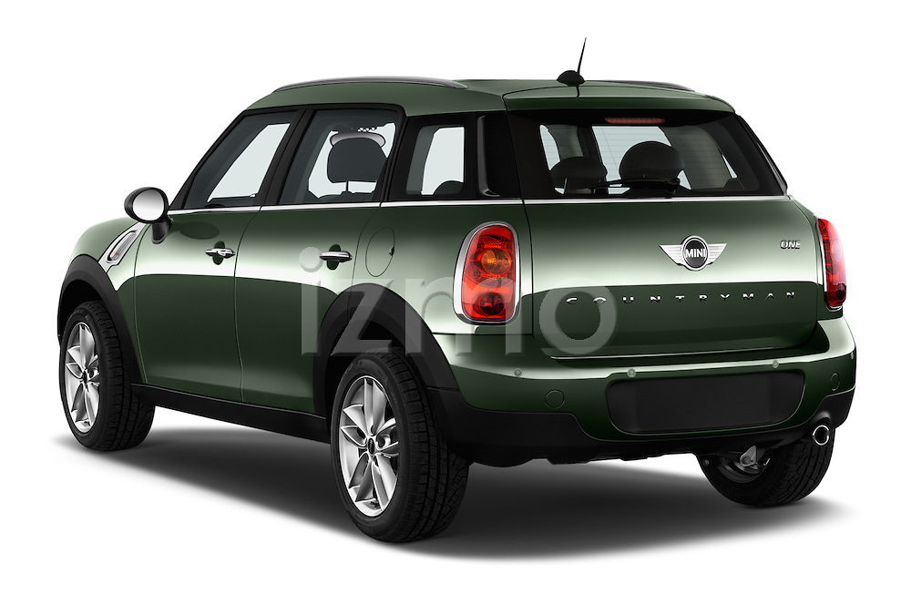 Car pictures of rear three quarter view of 2016 MINI Countryman One 5 Door Hatchback Angular Rear