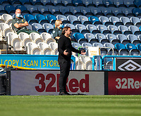 12th September 2020 The John Smiths Stadium, Huddersfield, Yorkshire, England; English Championship Football, Huddersfield Town versus Norwich City;  Norwich City head coach Daniel Farke