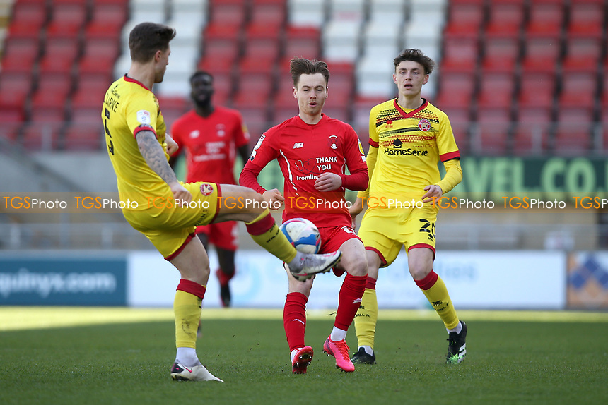 Dan Kemp of Leyton Orient during Leyton Orient vs Walsall, Sky Bet EFL League 2 Football at The Breyer Group Stadium on 5th April 2021