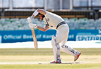 Jordan Cox bats for Kent during Kent CCC vs Lancashire CCC, LV Insurance County Championship Group 3 Cricket at The Spitfire Ground on 24th April 2021