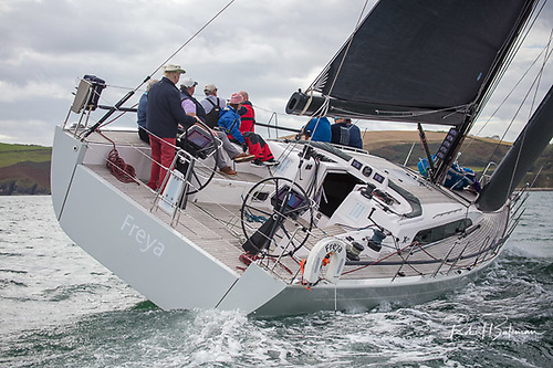 Conor Doyle's fifty-foot X-yacht Freya is the largest entry in the 2021 Dun Laoghaire to Dingle Race