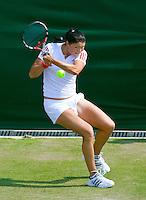 25-6-09, England, London, Wimbledon, Dinara Safina