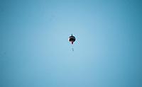 SÃO PAULO, SP, 16.06.2019: Balões em São Paulo - Vista de Balões no céu  próximo ao Pico de Járagua no bairro de Perus região noroeste da cidade de São Paulo (SP) na manhã deste domingo (16) . (Foto: Roberto Costa /Codigo19)