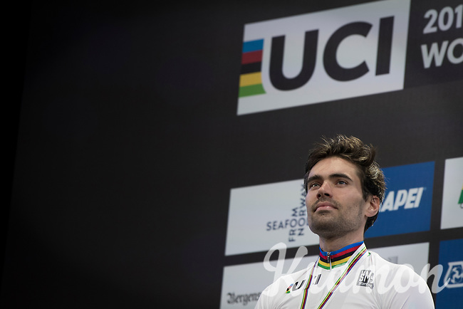 Tom Dumoulin (NED/Sunweb) is the new Time Trial World Champion<br /> <br /> Men Elite Individual Time Trial<br /> <br /> UCI 2017 Road World Championships - Bergen/Norway