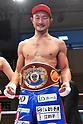 Boxing title bout at Korakuen Hall